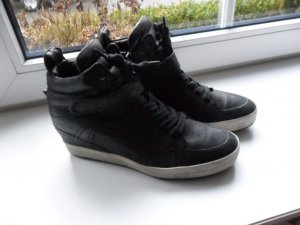 Kennel + schmenger Wedge Sneaker black leather