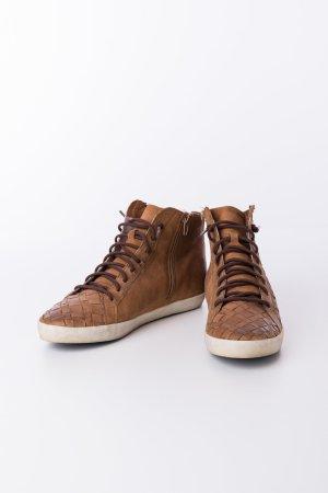 KENNEL & SCHMENGER - Sneakers Braun mit Flechtoptik