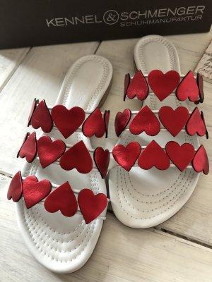Kennel&Schmenger Sommer Sandalen mit Herzen neu 190€