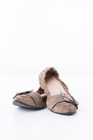 Kennel + schmenger Ballerinas with Toecap brown leather