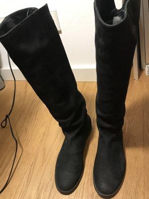 Kennel & Schmenger Stiefel 38,5 schwarz Leder