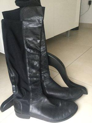 Kennel & Schmenger Stiefel Hochschaft in schwarz wie Overknee Gr. 6. = 39