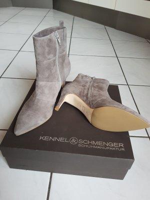 Kennel & Schmenger Stiefelette Grau Gr 37.5 - Neu