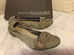 Kennel + schmenger Ballerinas grey leather