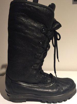 Kennel und Schmenger Bottes de neige noir cuir