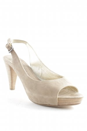 Kennel + schmenger High-Heeled Toe-Post Sandals light brown casual look