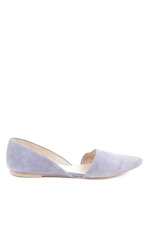 Kennel und Schmenger Ballerinas with Toecap lilac casual look