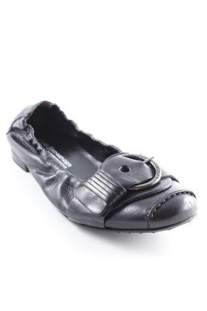 Kennel und Schmenger faltbare Ballerinas schwarz Casual-Look
