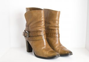 Kennel und Schmenger Ankle Boots brown-bronze-colored leather