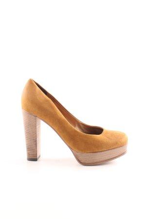 Kennel und Schmenger High Heels hellorange Casual-Look