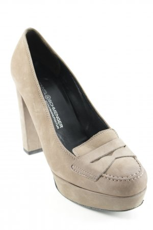Kennel und Schmenger High Heels camel Business-Look