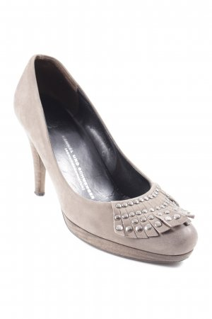 Kennel und Schmenger High Heels grau Party-Look
