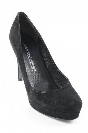 Kennel und Schmenger High Heels schwarz Business-Look