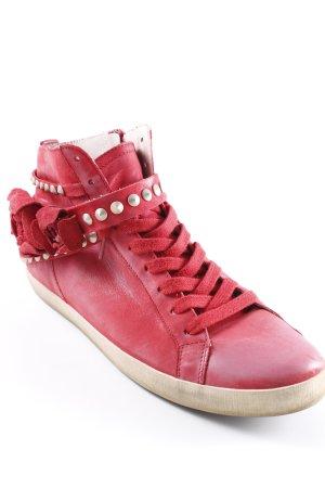 Kennel und Schmenger High Top Sneaker rot Romantik-Look