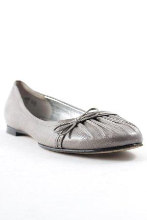 Kennel und Schmenger Patent Leather Ballerinas grey casual look