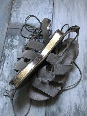 Kennel und Schmenger Leder Sandalen in der Farbe Taupe neu 189€
