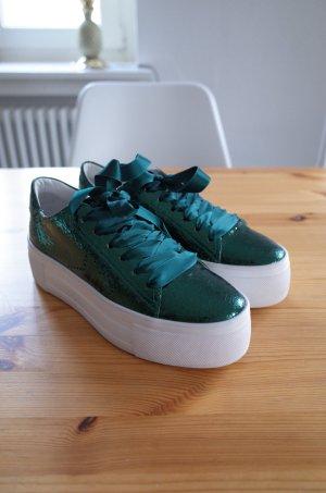 Kennel und Schmenger Metallic Plateau Sneaker