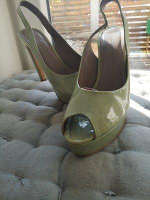 Kennel und Schmenger Peep Toe in grün