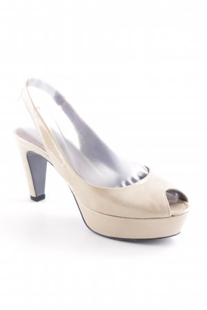 Kennel und Schmenger Peeptoe Pumps creme Business-Look