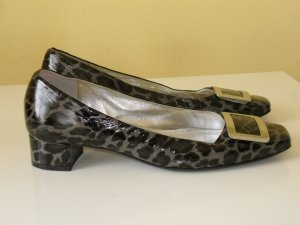 KENNEL und SCHMENGER Pumps Animalprint Lackleder Gr.39/40