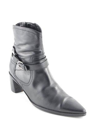 Kennel und Schmenger Reißverschluss-Stiefeletten schwarz Business-Look