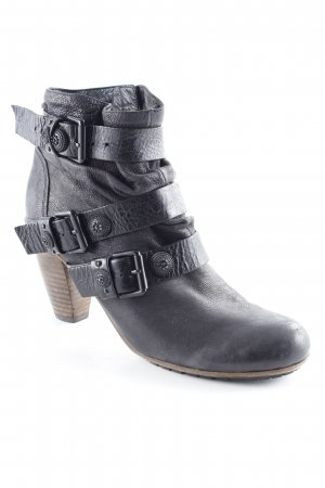 Kennel und Schmenger Reißverschluss-Stiefeletten schwarz Casual-Look