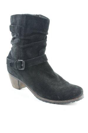 Kennel und Schmenger Reißverschluss-Stiefeletten schwarz Country-Look