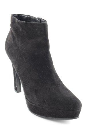 Kennel und Schmenger Reißverschluss-Stiefeletten schwarz Elegant