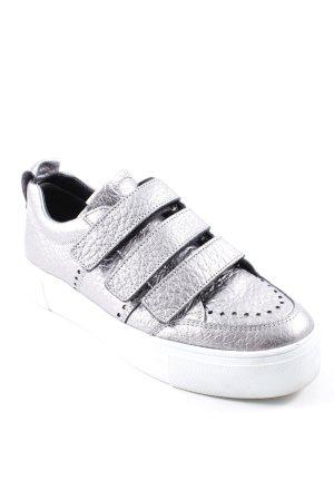 Kennel und Schmenger Schlüpfsneaker silberfarben-weiß Casual-Look