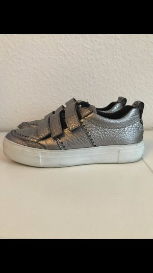 Kennel und Schmenger Velcro Sneakers silver-colored