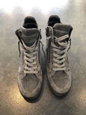 Kennel und Schmenger Sneaker con tacco grigio