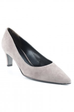 Kennel und Schmenger Spitz-Pumps hellbraun Business-Look