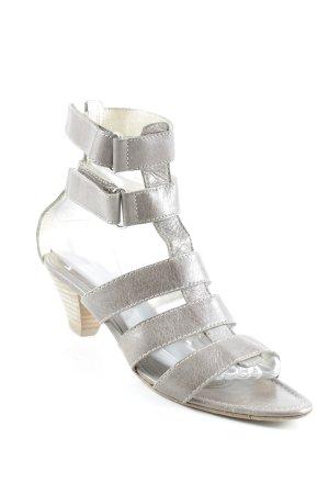 Kennel und Schmenger T-Strap Sandals grey brown casual look