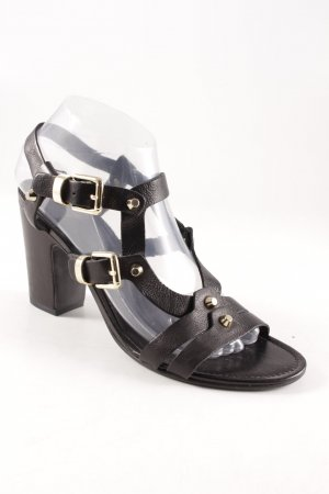 Kennel und Schmenger T-Strap Sandals black gothic look