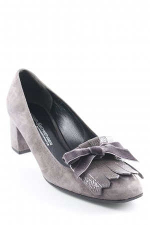 Kennel und Schmenger Loafer marrone-grigio stile professionale