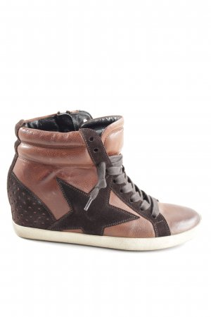 Kennel und Schmenger Wedge Sneaker braun-schwarz Casual-Look