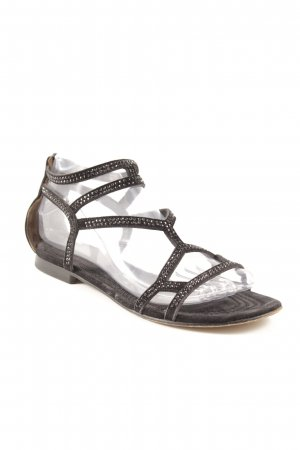 Kennel und Schmenger Toe-Post sandals black street-fashion look