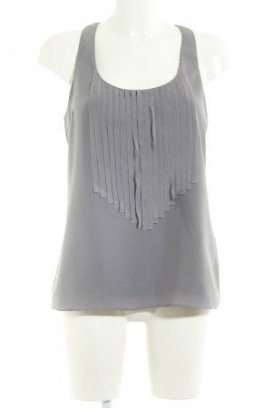 Kenneth Cole A-Linien Top grau Boho-Look