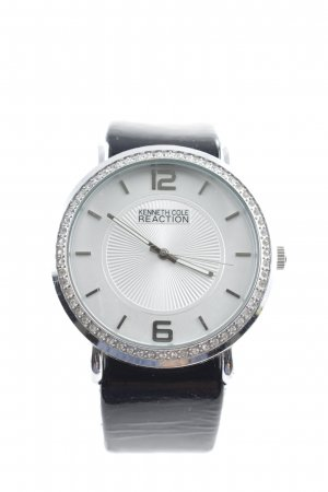 Kenneth Cole Analog Watch black-silver-colored glittery