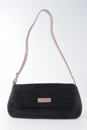 Kenneth Cole Borsa clutch nero-color oro rosa stile casual
