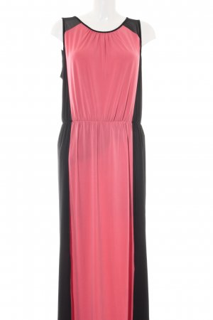 Kenneth Cole Cocktailkleid pink-schwarz Elegant