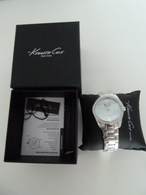 Kenneth Cole Reloj color plata