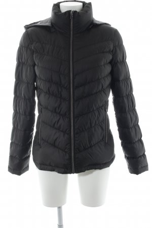 Kenneth Cole Down Jacket black quilting pattern casual look