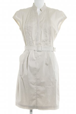 Kenneth Cole Shirtwaist dress cream simple style