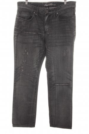 Kenneth Cole High Waist Jeans dunkelgrau Casual-Look