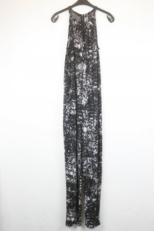 Kenneth Cole Jumpsuit Gr. S schwarz weiß lang