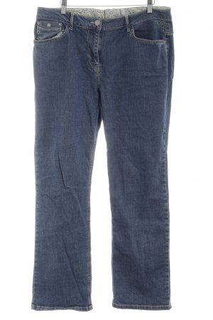 Kenny S. Straight-Leg Jeans blau Casual-Look