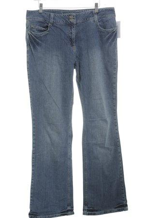 Kenny S. Straight-Leg Jeans kornblumenblau Casual-Look