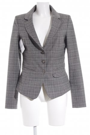 Kenny S. Sweat Blazer grey striped pattern business style