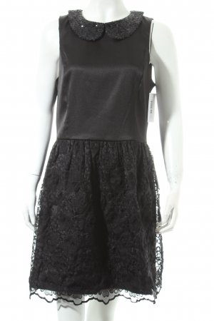 Kensie Spitzenkleid schwarz Elegant